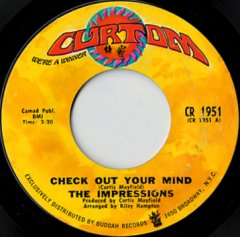 Check Out Your Mind / Can't You See