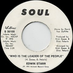 Who Is The Leader Of The People (stereo) / (mono)