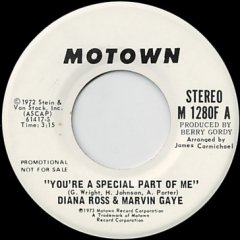 You're A Special Part Of Me (stereo) / (mono)