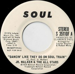 Dancin' Like They Do On Soul Train (stereo) / (mono)