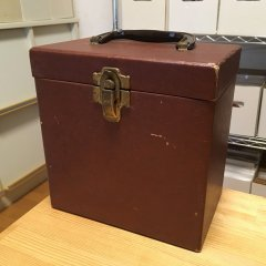 7inch Record Case - Brown