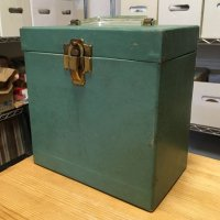 7inch Record Case - Green
