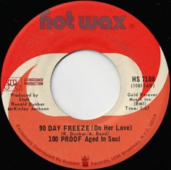 90 Days Freeze / Not Enough Love To Satisfy