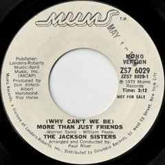 More Than Just Friends (stereo) / (mono)
