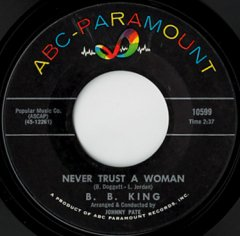 Never Trust A Woman / Worryin' Blues
