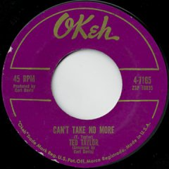 Can't Take No More / I'll Release You