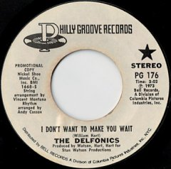 I Don't Want To Make You Wait (stereo) / (mono)