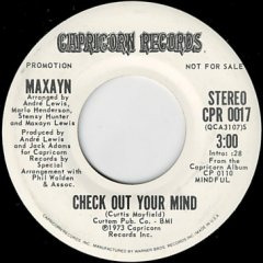 Check Out Your Mind (stereo) / (mono)