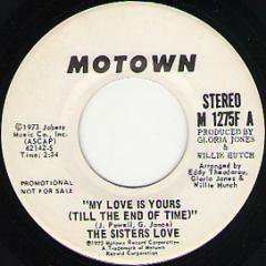 My Love Is Yours (stereo) / (mono)