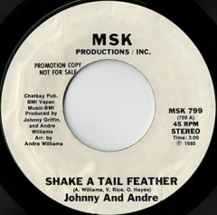 Shake A Tail Feather / The One On Tonight