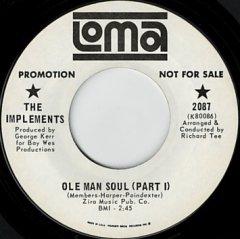 Ole Man Soul (pt.1) / (pt.2)