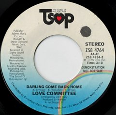 Darling Come Back Home (stereo) / (mono)