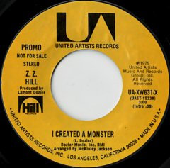 I Created A Monster (stereo) / (mono)