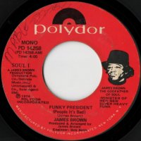 Funky President (People It's Bad) / Coldblooded