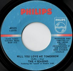 Will You Love Me Tomorrow / Around And Around