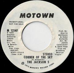 Corner Of The Sky (stereo) / (mono)