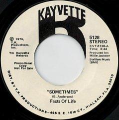 Sometimes / (same)