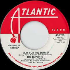 Stay For The Summer (stereo) / (mono)