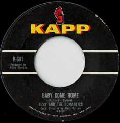 Baby Come Home / Every Day's A Holiday