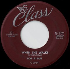 When She Walks / Gee Whiz