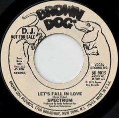 Let's Fall In Love / (same)