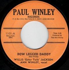Bow Legged Daddy / (inst)