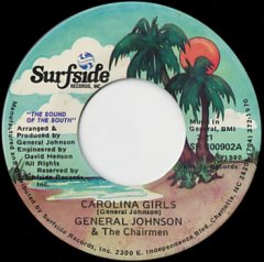 Carolina Girls / Down At The Beach Club
