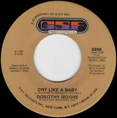 Cry Like A Baby / Just The One I've Been Looking For