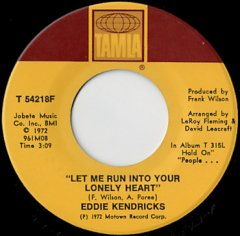 Let Me Run Into Your Lonely Heart / Eddie's Love