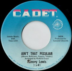 Ain't That Peculiar / Wade In The Water