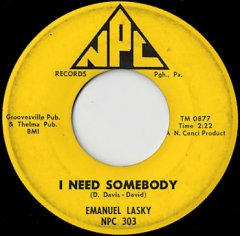 I Need Somebody / Tomorrow