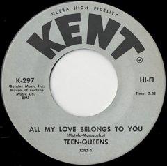 All My Love Belongs To You / Billy Boy