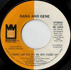 Dario, Can You Get Me Into Studio 54 / (long ver)