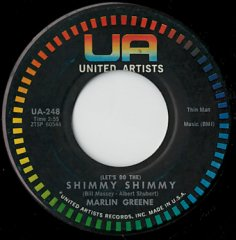 (Let's Do The) Shimmy Shimmy / I Couldn't Take It Again