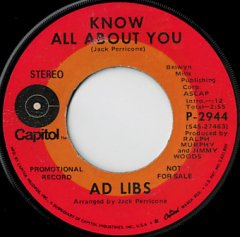 Know All About You / Love Me