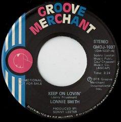 Keep On Lovin' (stereo) / (mono)