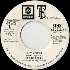 Hey Mister (stereo) / (mono)