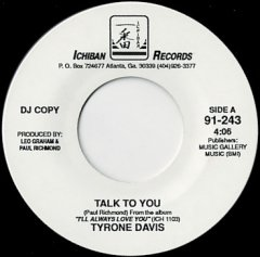 Talk To You / Prove My Love