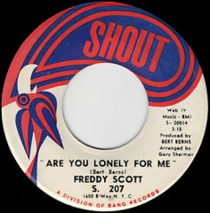 Are You Lonely For Me / Where Were You