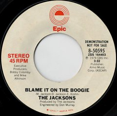 Blame It On The Boogie (stereo) / (mono)