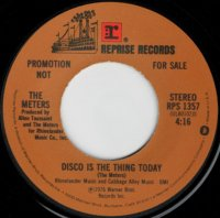 Disco Is The Thing Today (stereo) / (mono)