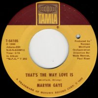 That's The Way Love Is / Gonna Keep On Tryin' Till I Win Your Love