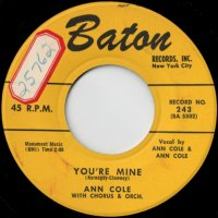You're Mine / No Star Is Lost