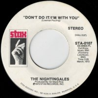 Don't Do It - I'm With You (stereo) / (mono)