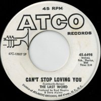 Can't Stop Loving You / (same)