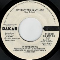 Without You In My Life (stereo) / (mono)