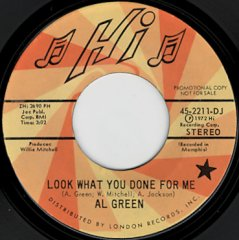 Look What You Done For Me (stereo) / (mono)