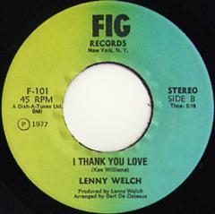 I Thank You Love / Six Million Dollar Woman