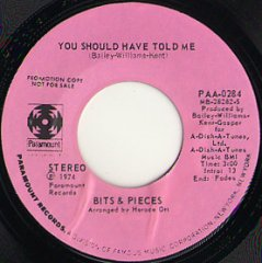You Should Have Told Me (stereo) / (mono)