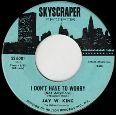 I Don't Have To Worry / I'm So Afraid